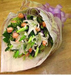 Tunceli çiçek gönderme  11 ADET GÜL VE 1 ADET KAZABLANKA