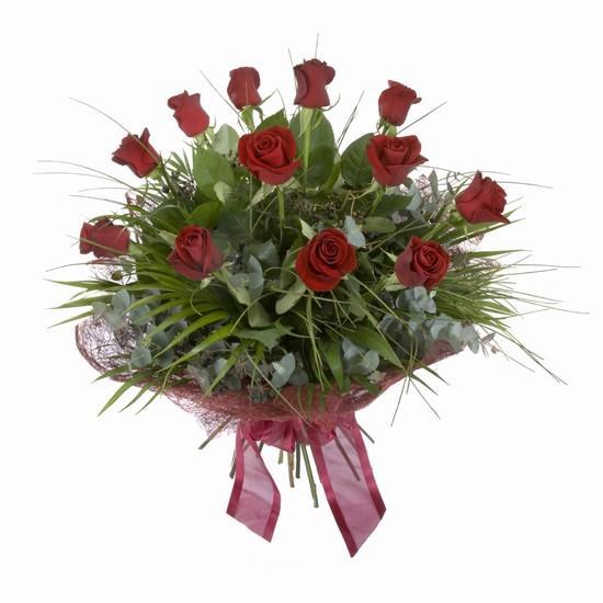 Etkileyici buket 11 adet kirmizi gül buketi  Tunceli çiçek gönderme