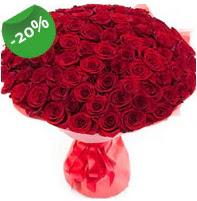 Özel mi Özel buket 101 adet kırmızı gül  Tunceli çiçekçiler