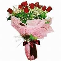 Tunceli çiçek yolla  12 adet kirmizi kalite gül