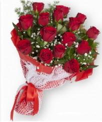 11 adet kırmızı gül buketi  Tunceli çiçekçi mağazası
