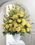 Tunceli çiçek yolla  sari güllerden sebboy tanzim çiçek siparisi
