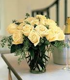 Tunceli çiçek yolla  11 adet sari gül mika yada cam vazo tanzim