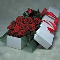 Tunceli ucuz çiçek gönder  11 adet gülden kutu