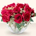 Tunceli çiçek siparişi vermek  mika yada cam içerisinde 10 gül - sevenler için ideal seçim -