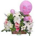 balon ve çiçeklerle tanzim  Tunceli çiçek gönderme