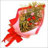 12 adet renkli  gül buketi   Tunceli çiçek gönderme sitemiz güvenlidir