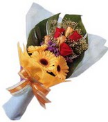 güller ve gerbera çiçekleri   Tunceli çiçek servisi , çiçekçi adresleri