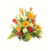 karisik renkli çiçekler tanzim   Tunceli çiçek servisi , çiçekçi adresleri