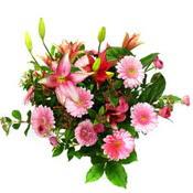 lilyum ve gerbera çiçekleri - çiçek seçimi -  Tunceli kaliteli taze ve ucuz çiçekler