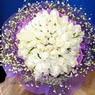 71 adet beyaz gül buketi   Tunceli online çiçekçi , çiçek siparişi