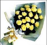 sari güllerden sade buket  Tunceli online çiçekçi , çiçek siparişi