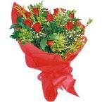 10 adet kirmizi gül buketi  Tunceli çiçek mağazası , çiçekçi adresleri