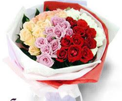 SEVENLERE ÖZEL 51 ADET GÜL  Tunceli çiçek gönderme