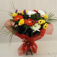 Tunceli İnternetten çiçek siparişi  Karisik mevsim demeti
