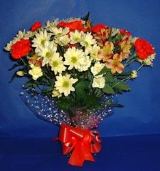 Tunceli İnternetten çiçek siparişi  kir çiçekleri buketi mevsim demeti halinde