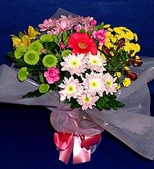 Tunceli İnternetten çiçek siparişi  küçük karisik mevsim demeti