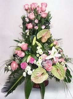 Tunceli çiçek yolla , çiçek gönder , çiçekçi   özel üstü süper aranjman