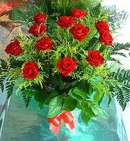 12 adet gül buketi  Tunceli çiçekçiler