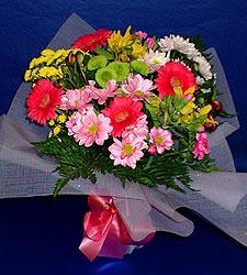 karisik sade mevsim demetligi   Tunceli internetten çiçek satışı