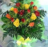 13 adet karisik gül buketi demeti   Tunceli çiçek siparişi sitesi