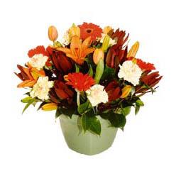 mevsim çiçeklerinden karma aranjman  Tunceli hediye sevgilime hediye çiçek