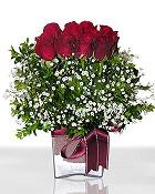 Tunceli online çiçekçi , çiçek siparişi  11 adet gül mika yada cam - anneler günü seçimi -