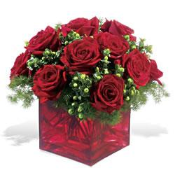 Tunceli çiçek mağazası , çiçekçi adresleri  9 adet kirmizi gül cam yada mika vazoda