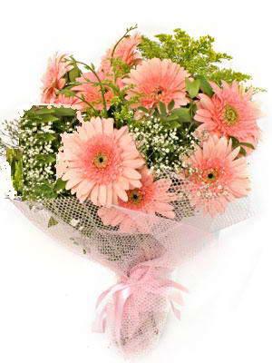Tunceli yurtiçi ve yurtdışı çiçek siparişi  11 adet gerbera çiçegi buketi