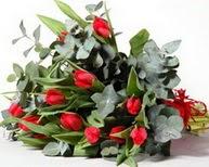 Tunceli yurtiçi ve yurtdışı çiçek siparişi  11 adet kirmizi gül buketi özel günler için