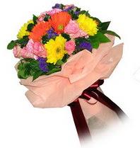 Tunceli çiçek gönderme sitemiz güvenlidir  Karisik mevsim çiçeklerinden demet
