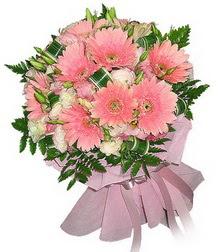 Tunceli çiçekçi mağazası  Karisik mevsim çiçeklerinden demet