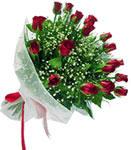 Tunceli çiçek gönderme  11 adet kirmizi gül buketi sade ve hos sevenler