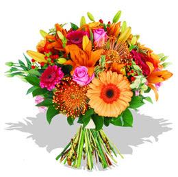 Tunceli güvenli kaliteli hızlı çiçek  Karisik kir çiçeklerinden görsel demet