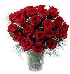 Tunceli çiçek servisi , çiçekçi adresleri  11 adet kirmizi gül cam yada mika vazo içerisinde