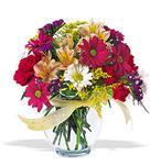 Tunceli online çiçekçi , çiçek siparişi  cam yada mika vazo içerisinde karisik kir çiçekleri