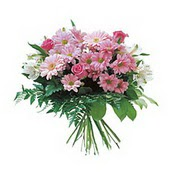 karisik kir çiçek demeti  Tunceli yurtiçi ve yurtdışı çiçek siparişi