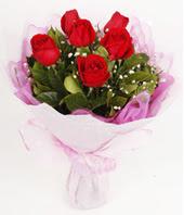 9 adet kaliteli görsel kirmizi gül  Tunceli kaliteli taze ve ucuz çiçekler