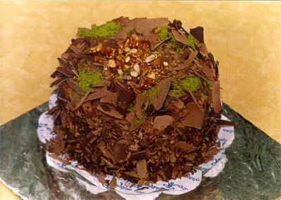 Çikolatali 4 ila 6 kisilik yas pasta  Tunceli çiçek servisi , çiçekçi adresleri
