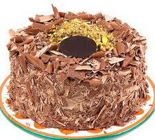 çikolatali 4 ile 6 kisilik yas pasta  Tunceli online çiçek gönderme sipariş