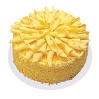 Muzlu pasta 4 ile 6 kisilik yas pasta  Tunceli güvenli kaliteli hızlı çiçek