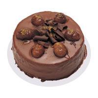 Kestaneli çikolatali yas pasta  Tunceli online çiçekçi , çiçek siparişi