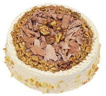 Karamelli 4 ile 6 kisilik yas pasta  Tunceli çiçek mağazası , çiçekçi adresleri