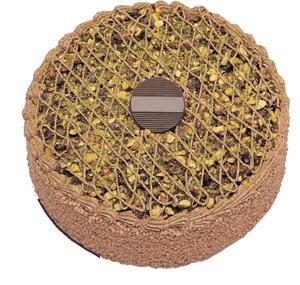 Krokanli 4 ile 6 kisilik yas pasta leziz  Tunceli kaliteli taze ve ucuz çiçekler