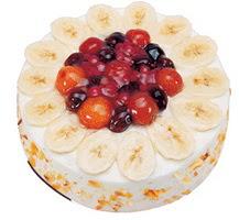 Meyvali 4 ile 6 kisilik yas pasta leziz  Tunceli çiçek yolla , çiçek gönder , çiçekçi