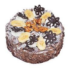 Muzlu çikolatali yas pasta 4 ile 6 kisilik   Tunceli çiçek siparişi sitesi