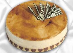 taze pasta 4 ile 6 kisilik yas pasta karamelli yaspasta  Tunceli çiçekçi telefonları