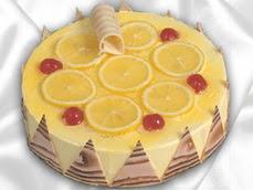 taze pastaci 4 ile 6 kisilik yas pasta limonlu yaspasta  Tunceli ucuz çiçek gönder