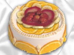 leziz pastane 4 ile 6 kisilik yas pasta meyvali yaspasta  Tunceli cicekciler , cicek siparisi