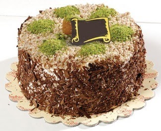 pasta gönderme 4 ile 6 kisilik çikolatali yas pasta  Tunceli yurtiçi ve yurtdışı çiçek siparişi